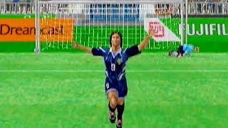 Virtua Striker 2 Ver. 2000.1 (1999) Germany VS Argentina / Dreamcast