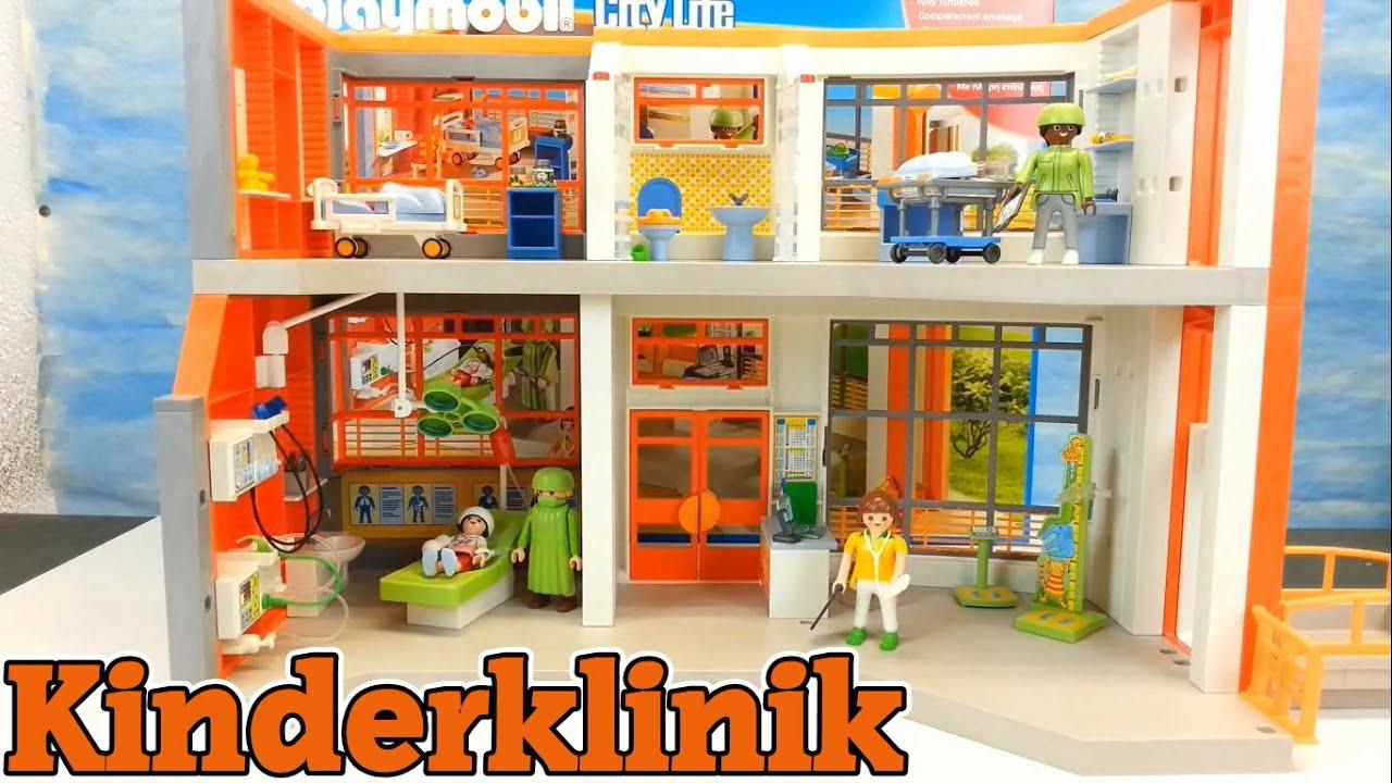 playmobil ausmalbilder krankenhaus / playmobil