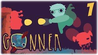 Let's Play: GoNNER | Part 1 | I'm a Goner | GoNNER PC Gameplay
