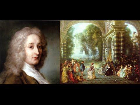 Video mostra Antoine Watteau opere realizzate dal 1708 al 1721  Rococò