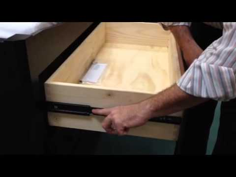 Removing Heritage Self Close Drawers With Side Mount