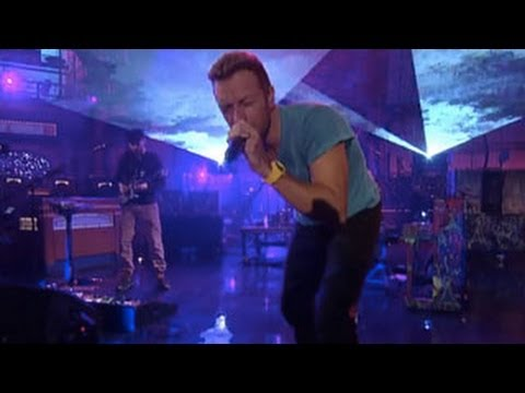 Coldplay - Every Teardrop Is A Waterfall (Live on Letterman)