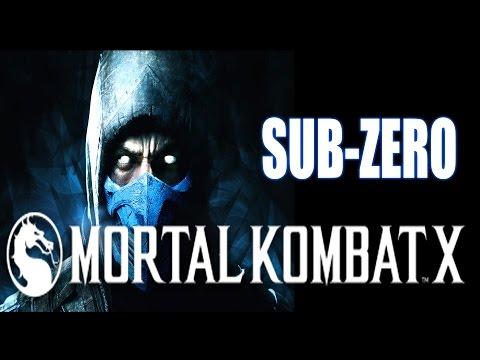 Прохождение Mortal Kombat X - SUB-ZERO - Хладнокровный убийца
