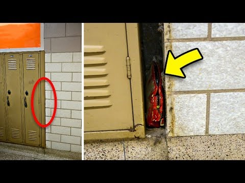 Lost Purse That Went Missing In 1957 Found Wedged Behind Lockers. This Is What It Contained...