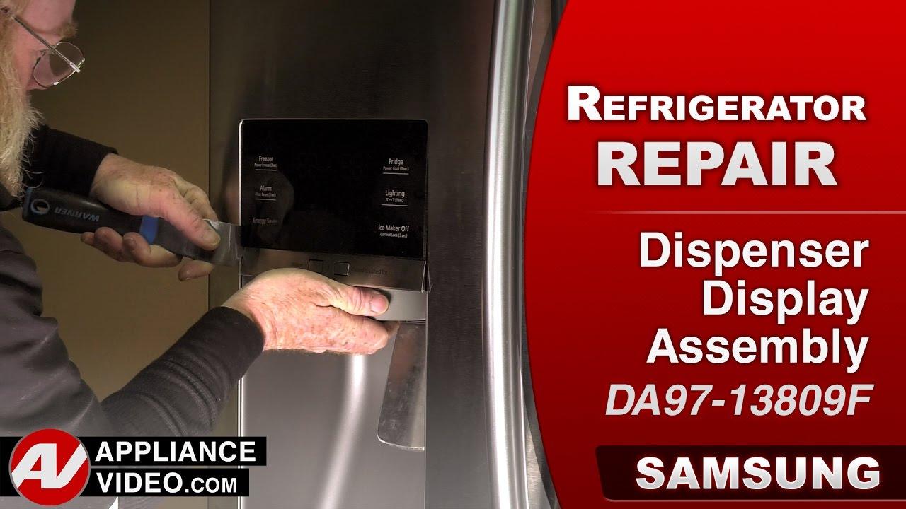 Samsung Refrigerator – No display – Dispenser Display Assembly