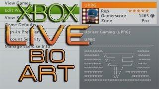 XBOX Live Bio Art ( Faze Clan) Episode:1