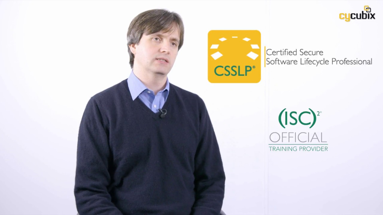 Introduction To The Isc2 Csslp Certification Youtube