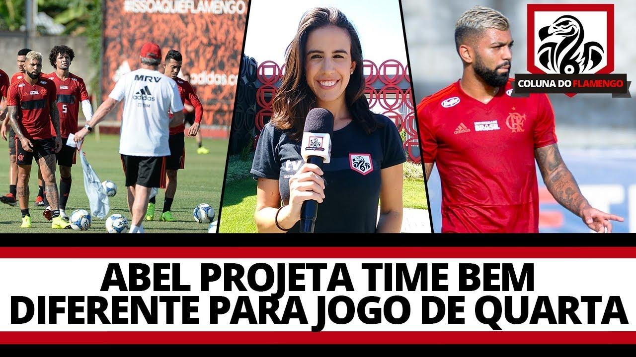 Abel Projeta Time Bem Diferente Para Jogo Na Quarta Dia A Dia Flamengo