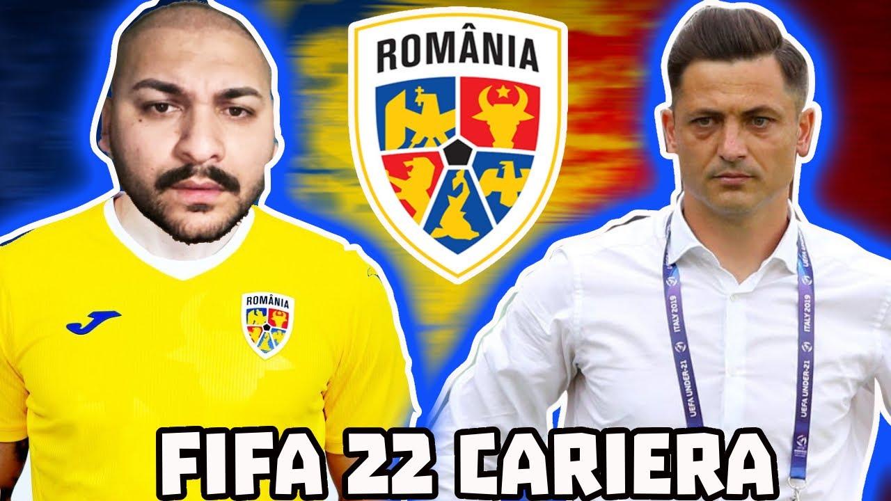 DANI MOCANU CONVOCAT LA NATIONALA DE MIREL RADOI / CARIERA DE JUCATOR FIFA 22 #3