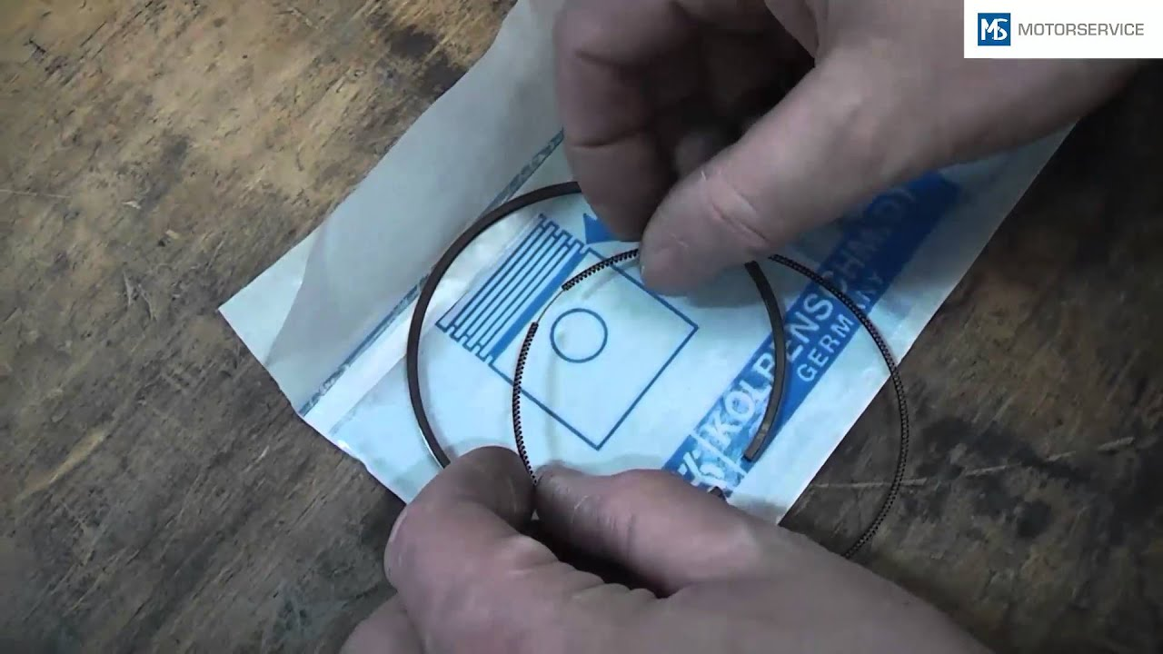Installation of rings · Technipedia · Motorservice