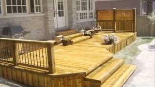 How To Build A Deck - Download Plans - Ted's Woodworking - Tedswoodworking.com