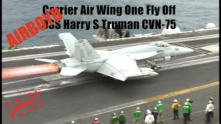 F/A-18 Hornet Carrier Air Wing One Fly Off