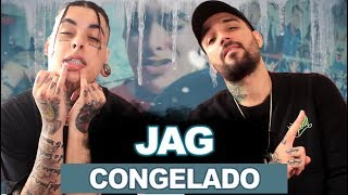 Jag - Congelado (Prod. Dragon Boy$) | REACT / ANÁLISE VERSATIL FEAT BRTT