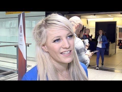 Elise Christie & Bill Sweeney Interviews - Team GB Return From Winter Olympics