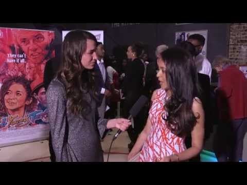 Brash Young Turks   MELISSA LATOUCHE Movie Premiere Interview