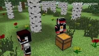 Майнкрафт Анимация. Мистик и Лаггер (Лагер). Minecraft Мультики про Приключения Летсплейщиков