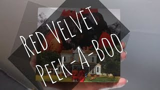 Red Velvet (레드벨벳) - Peek-a-boo (피카부) Unboxing