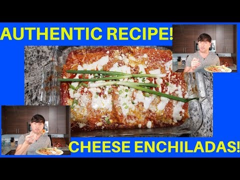 AUTHENTIC CHEESE ENCHILADAS | SUPER DELICIOUS GLUTEN FREE AND LOW CARB TOO!