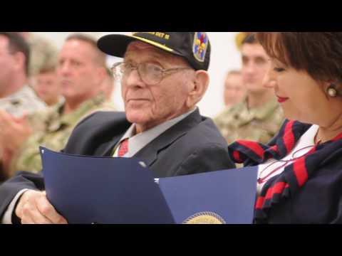 Retired La. Guard Brig. Gen. LeBlanc honored for lifetime of military service