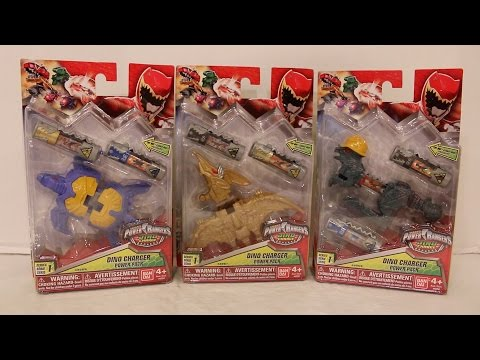 Dino Charger Power Packs Series 1 Wave 4 Review [Power Rangers Dino Charge]