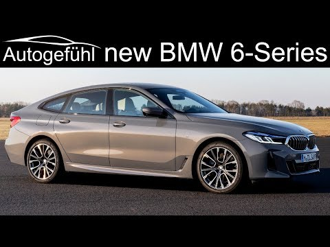 New BMW 6-Series GT Facelift Exterior Interior 6 Series Gran Turismo 2021 2020 PREVIEW