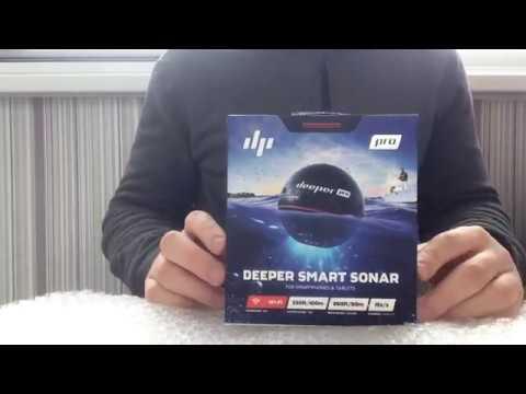Обзор эхолота Deeper Smart Sonar Pro