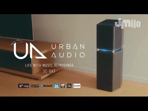 Download Comercial Panasonic Urban Audio SC-UA7