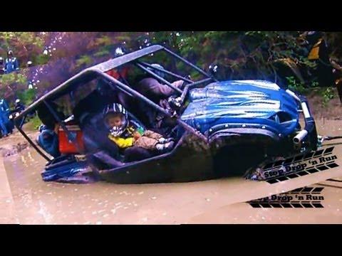 Yamaha rhino 4 seater 4x4 mud bogging side by side mud pit for Yamaha side by side 4 seater