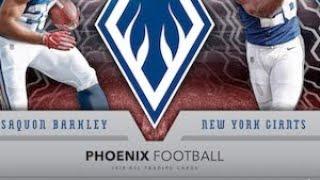 10/28/18 - eBay - 9 PM CDT - 2018 Panini Phoenix Football Inner Case Break #3