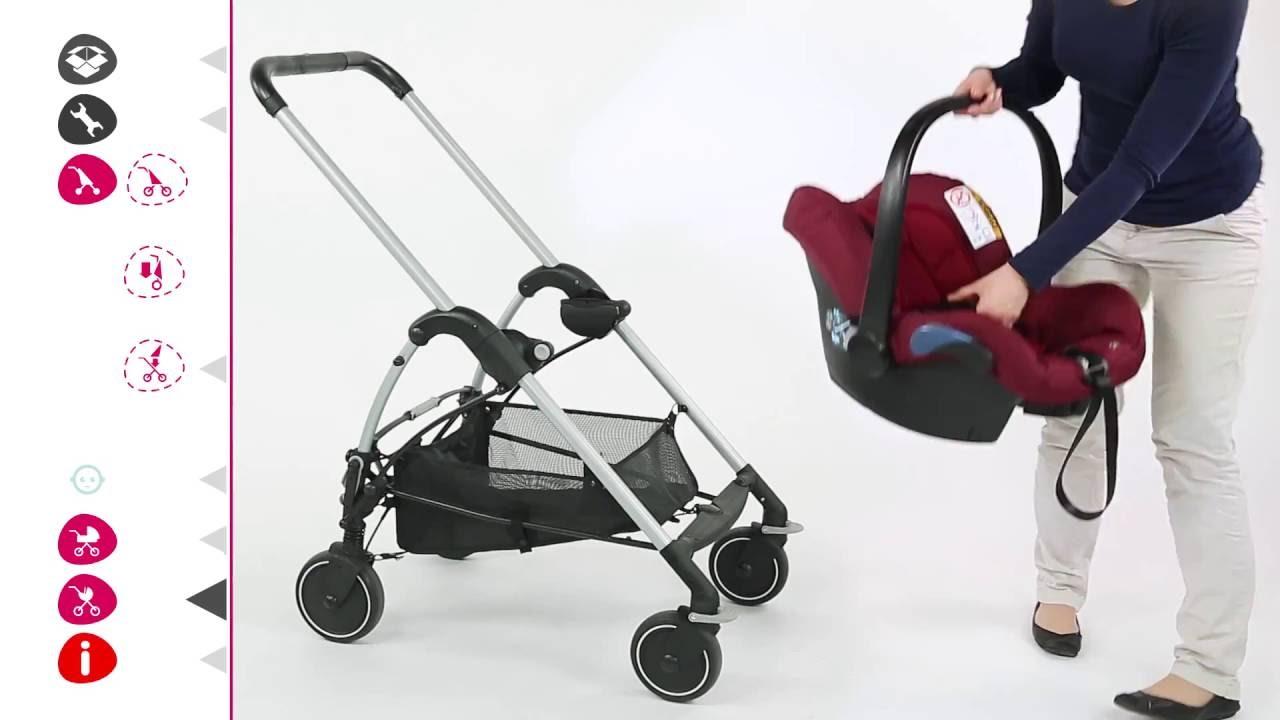pack poussette streety de bebe confort utilisation