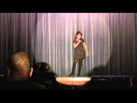 Melanie sings at Westland Middle School Talent Show on  1-27-12