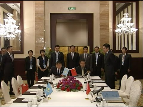 China, Kazakhstan Sign MOU on Customs Cooperation