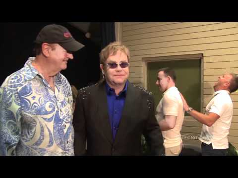 Elton John - Exclusive Backstage Footage
