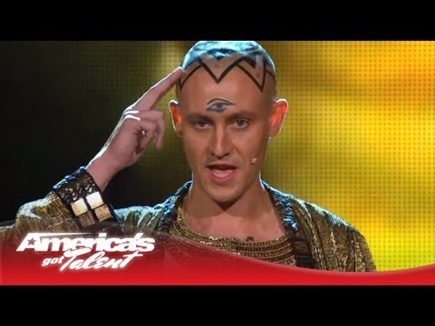 Special Head - Monk Levitates Above a Pyramid and Disappears - America's Got Talent 2013