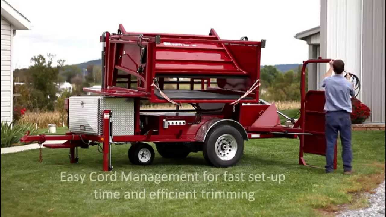 Delightful Tuffy Tilt Tables Hoof Trimming Chute In Action (old)   YouTube