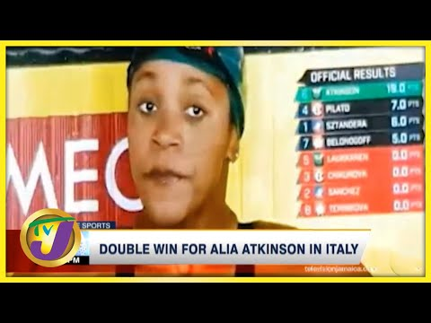 Double Win for Alia Atkinson in Italy - Sept 26 2021