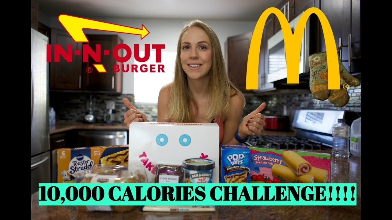 10K CALORIE CHALLENGE   GIRL VS FOOD   EPIC CHEAT DAY