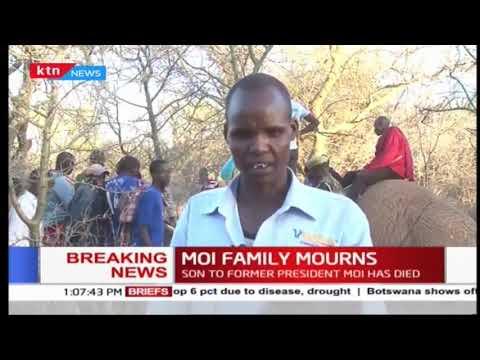 Drought Effects: Elephant succumbs to drought in Kajiado