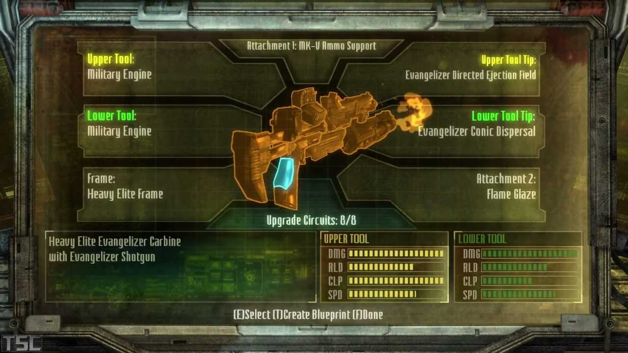 Dead Space  Crafting Best Weapon