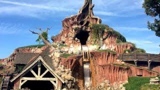 [4k] Splash Mountain Front Row POV Disneyland (Amazing Low Light) ridethrough | LMG Vids