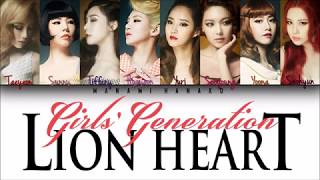 GREEKHANROM Girls' Generation 소녀시대 – 39Lion Heart39 Color Co…