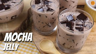 How To Make Mocha Jelly | Mocha Sago Jelly Dessert | Mortar and Pastry