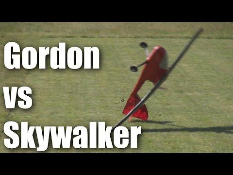Gordon finally tames the Skywalker RC plane