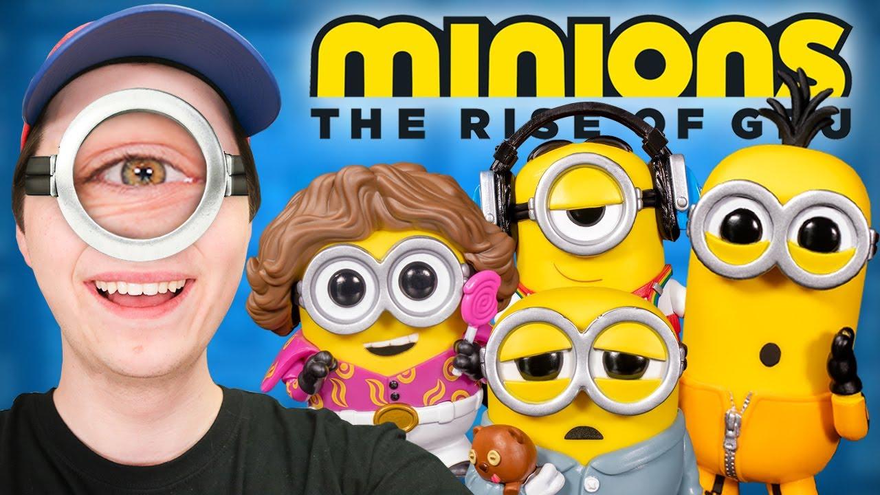 Minions: The Rise of Gru Funko Pop Hunting!