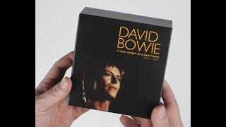David Bowie / A New Career in a New Town CD unboxing video