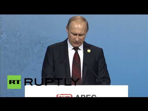 China: Putin bigs up Russian economy at APEC meeting
