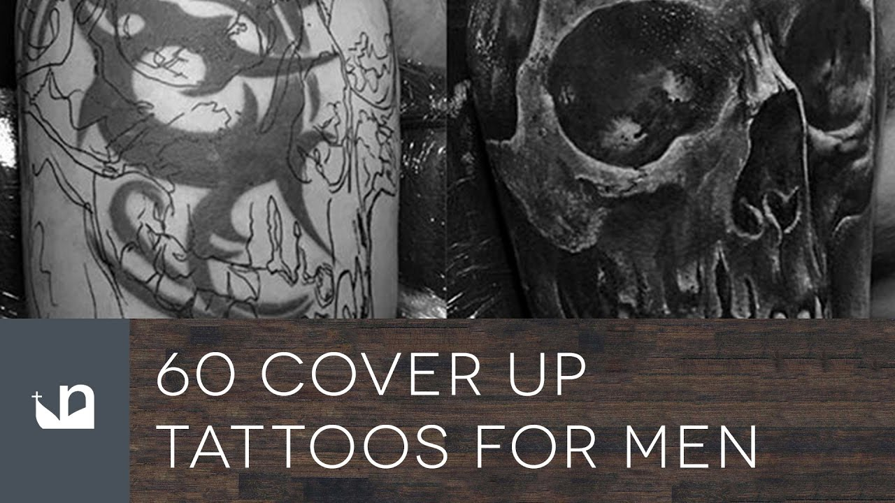 60 Cover Up Tattoos For Men - YouTube