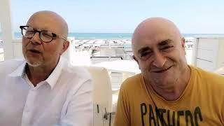 """I comici Rocco il Gigolò di Zelig e Angelo Carestia: """"Vasto è meravigliosa"""""""