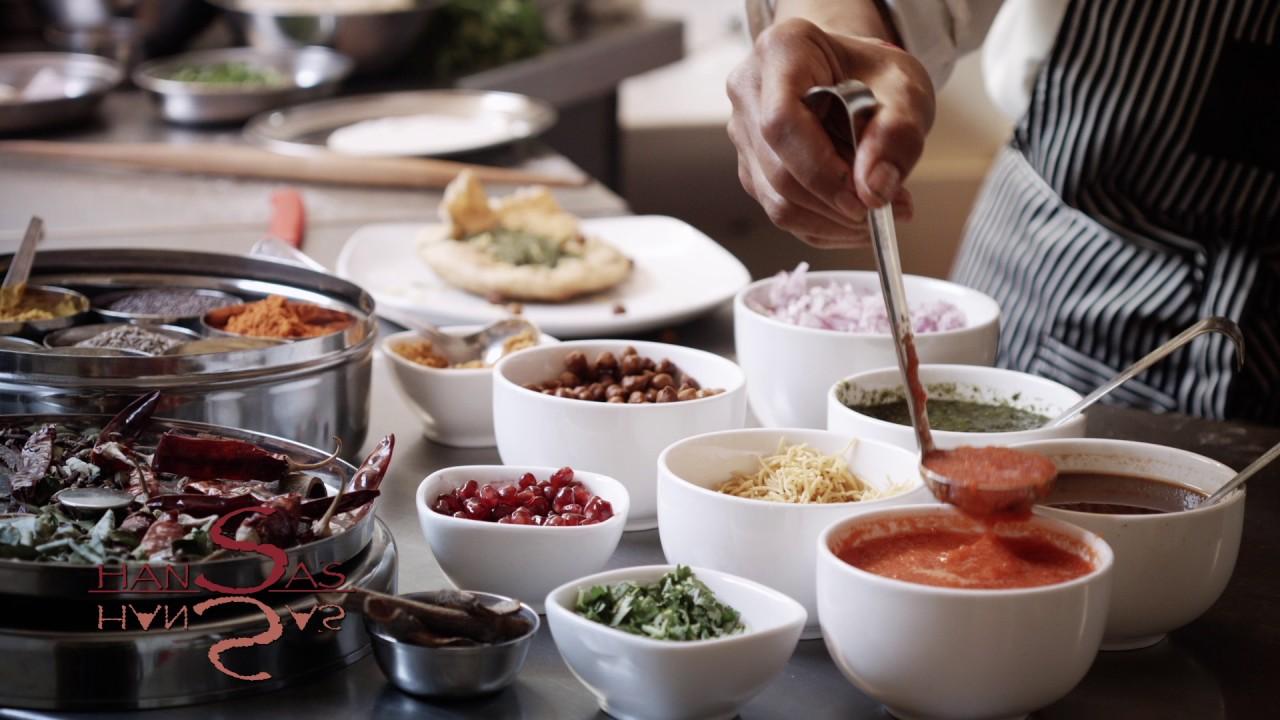 Hansa S Vegetarian Restaurant Advert