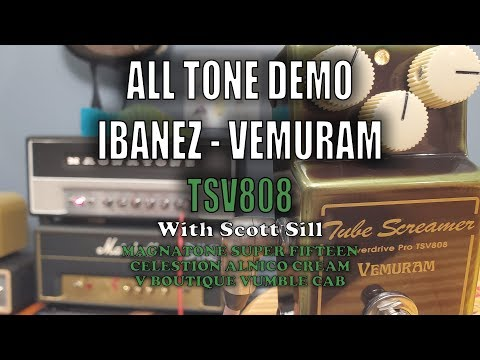 Ibanez Vemuram TSV808 are shipping and I got One Here is a